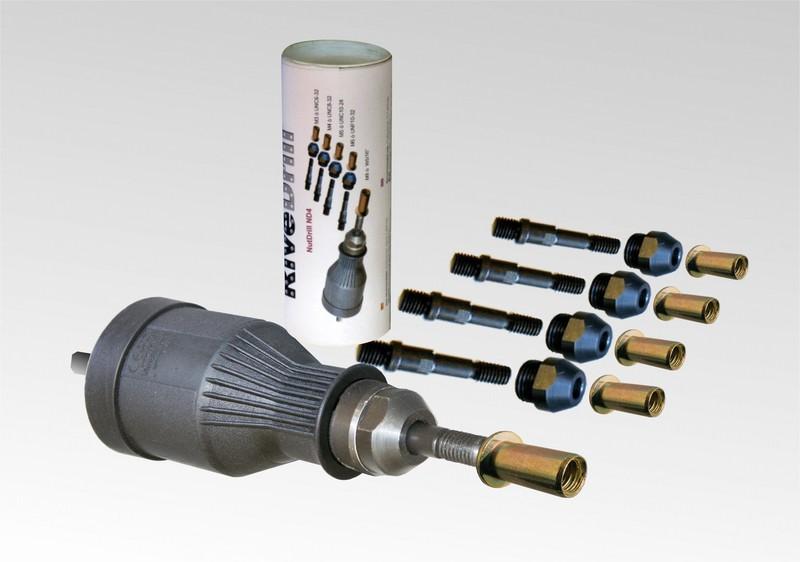la Herramienta sin Cables Remache Taladro Adaptador Azul GFCGFGDRG Taladro el/éctrico del Remache Adaptador Remachadora Inserte Llave para Tuercas de remachar